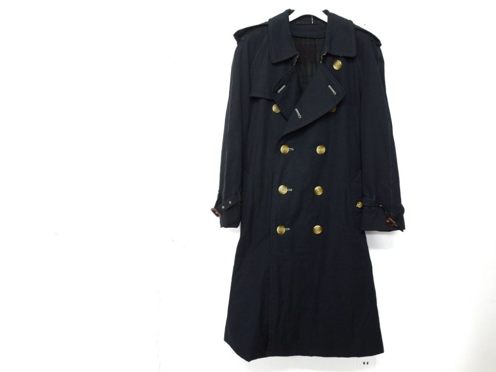SOTA JAPAN × SEW UP BURBERRYS  BLACK OUT  COAT MADE IN ENGLAND #2