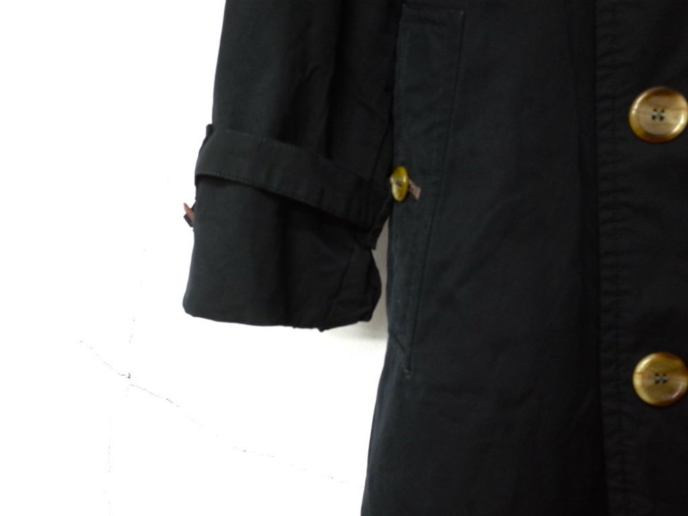 SOTA JAPAN × SEW UP BURBERRYS  BLACK OUT  COAT MADE IN ENGLAND #5