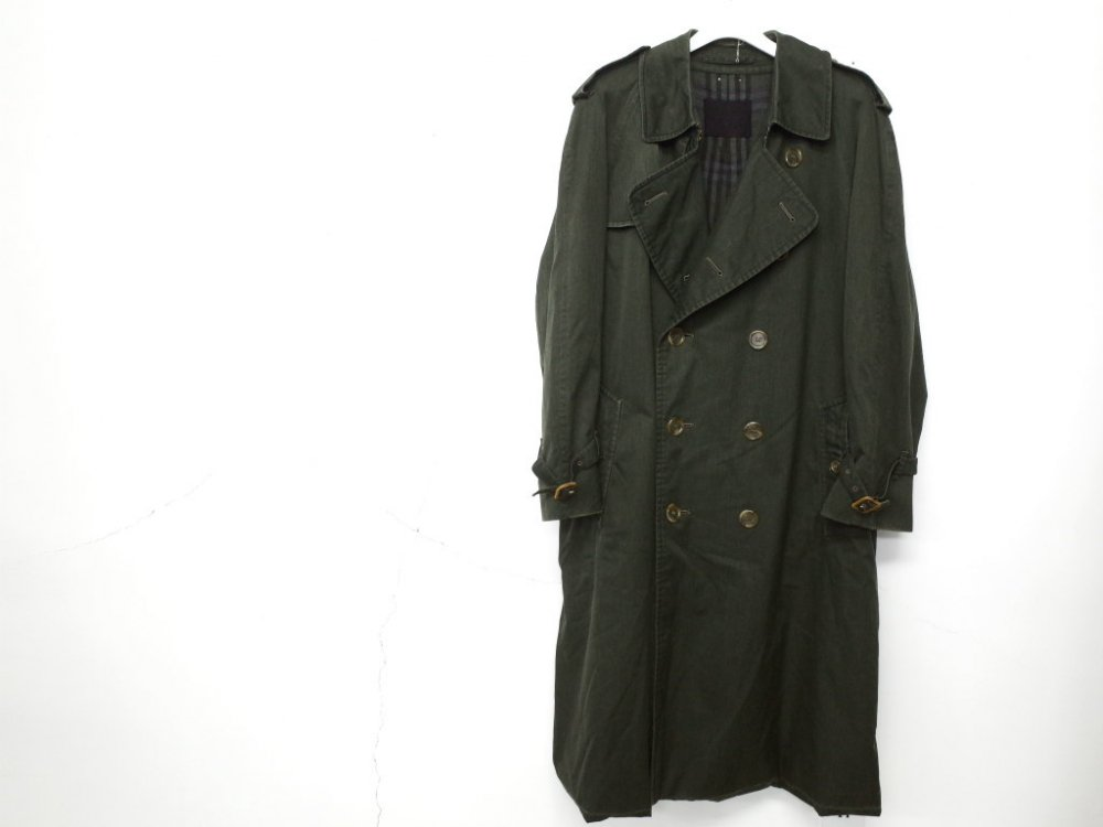 SOTA JAPAN × SEW UP BURBERRYS  BLACK OUT  COAT MADE IN ENGLAND #6