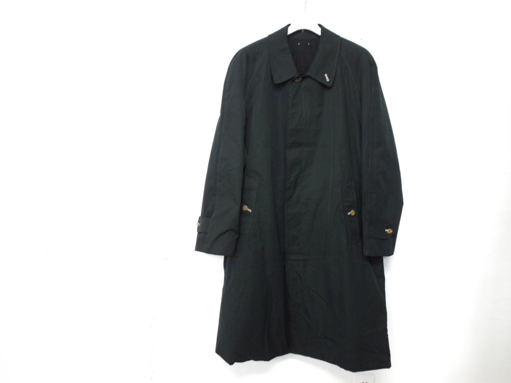 SOTA JAPAN × SEW UP BURBERRYS  BLACK OUT  COAT MADE IN ENGLAND #7