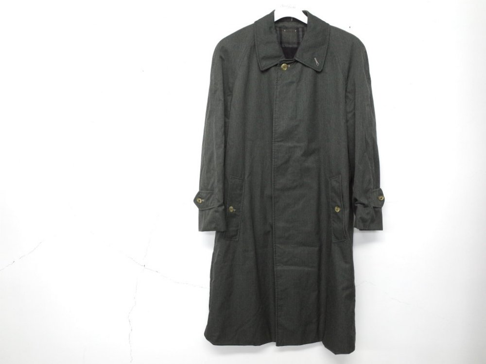 SOTA JAPAN × SEW UP BURBERRYS  BLACK OUT  COAT MADE IN ENGLAND #10