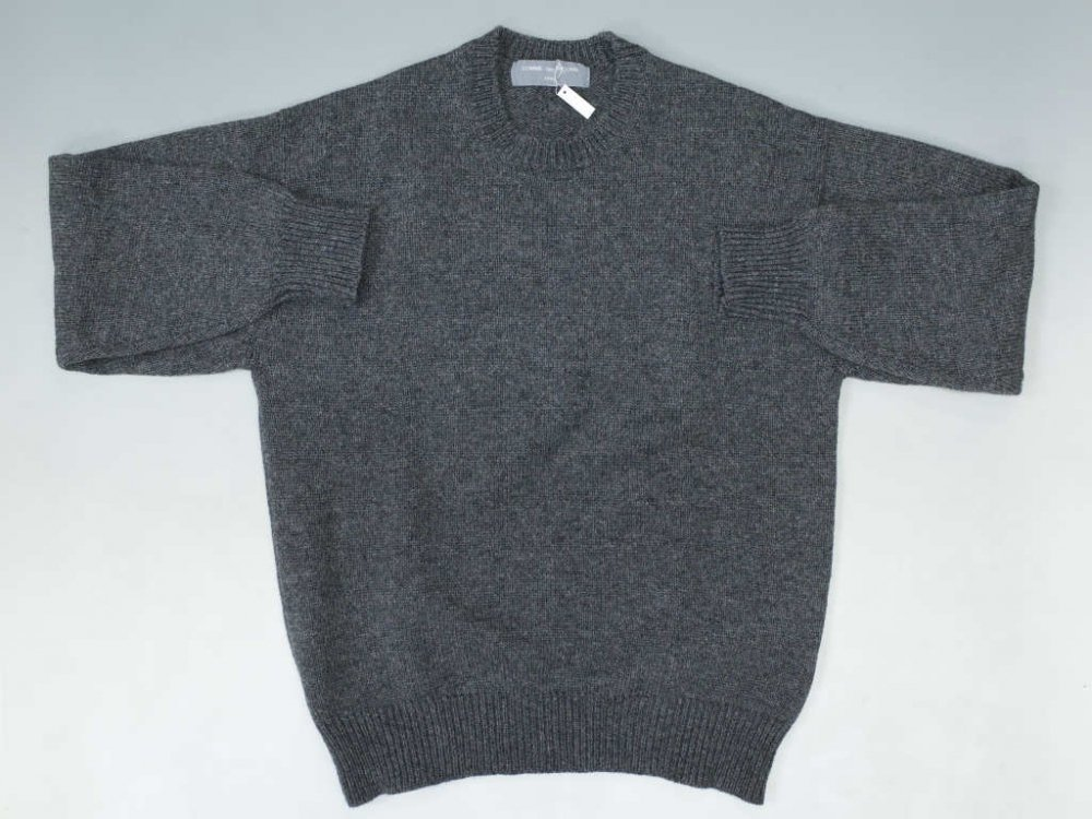 COMME des GARCONS HOMME クルーネックセーター MADE IN JAPAN USED