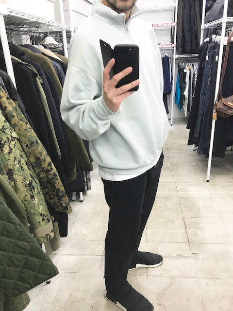 SOTA JAPAN × SEW UP OVERDYE QUATER ZIP SWEAT hermes