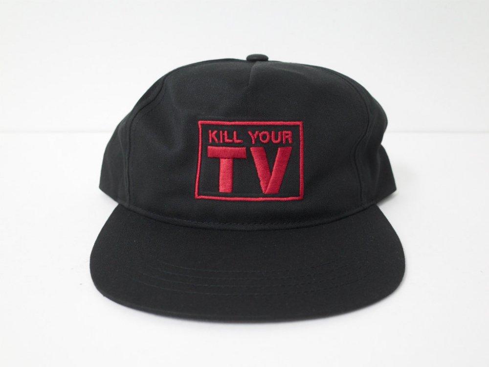 PLEASURES  TV Snapback Cap キャップ