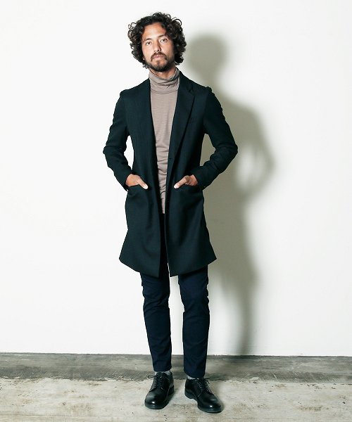 <img class='new_mark_img1' src='//img.shop-pro.jp/img/new/icons20.gif' style='border:none;display:inline;margin:0px;padding:0px;width:auto;' />Magine THERMO LITE CHESTER COAT チェスターコート