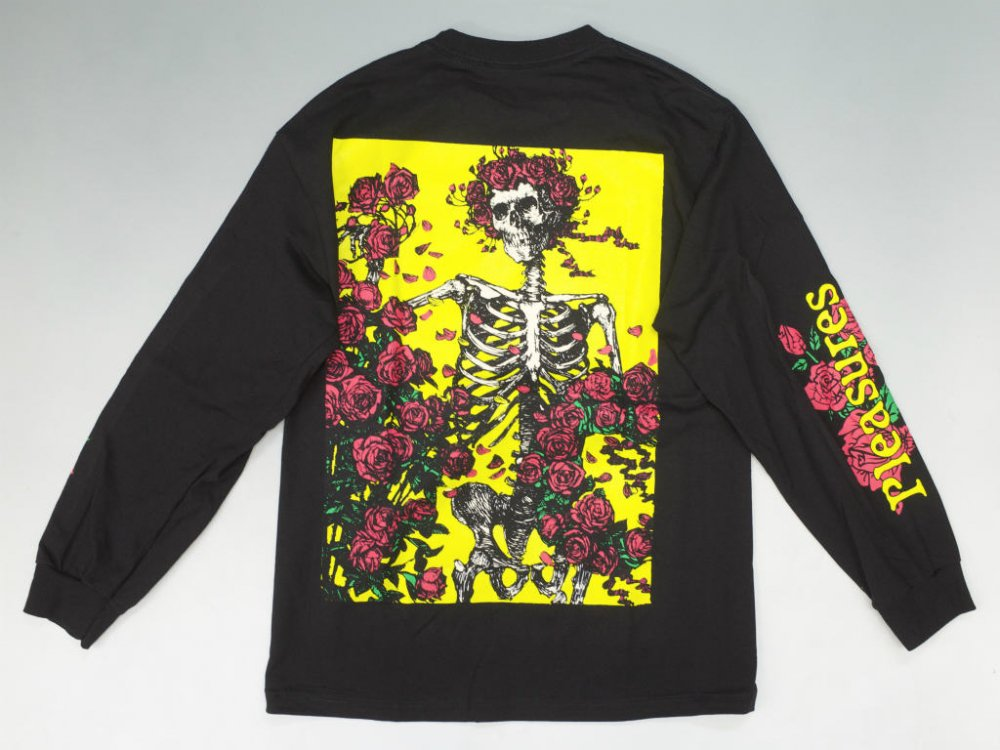 PLEASURES × GRATEFUL DEAD BERTHA  L/S Tシャツ