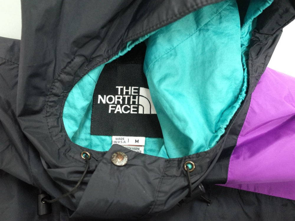 VINTAGE 90's THE NORTH FACE ノースフェイス  GORE-TEX マウンテンパーカ USA製 USED