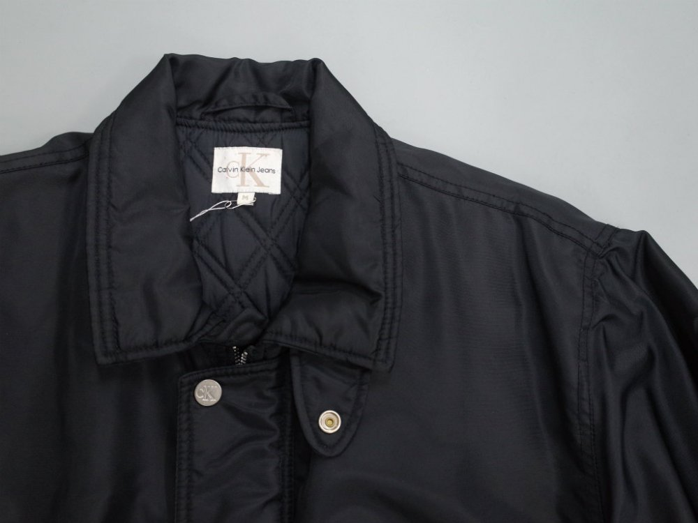 CK Calvin Klein Jeans 中綿入り ナイロンコート USED