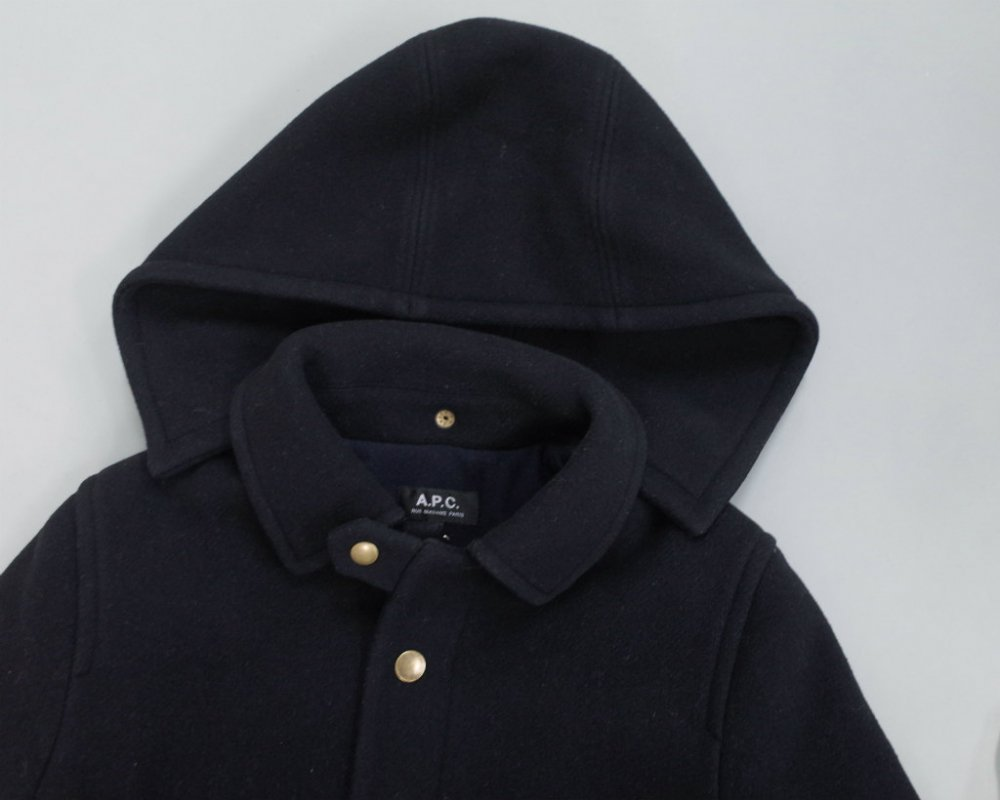 A.P.C.  イタリア製ウール コート  USED