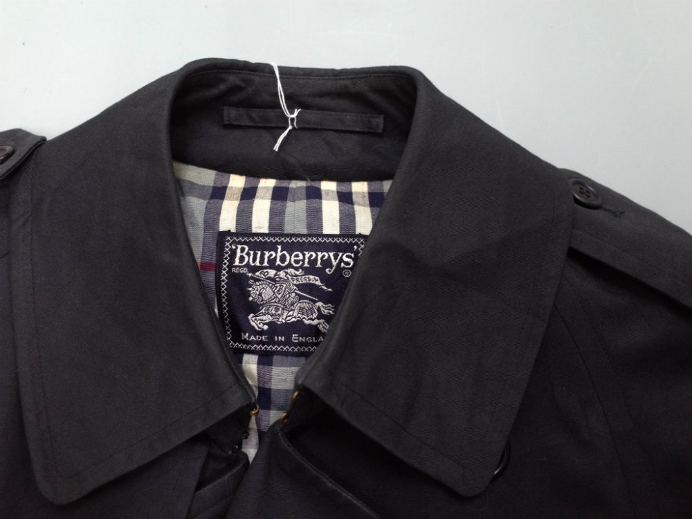 VINTAGE 90's BURBERRYS バーバリー   トレンチコート MADE IN ENGLAND USED