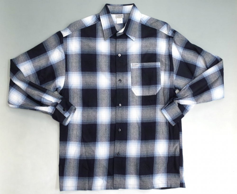 CALTOP OMBRE CHECK シャツ N/S MADE IN USA