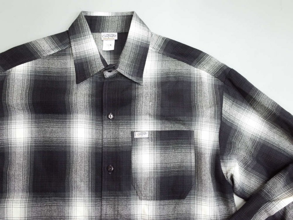 CALTOP OMBRE CHECK シャツ B/I MADE IN USA