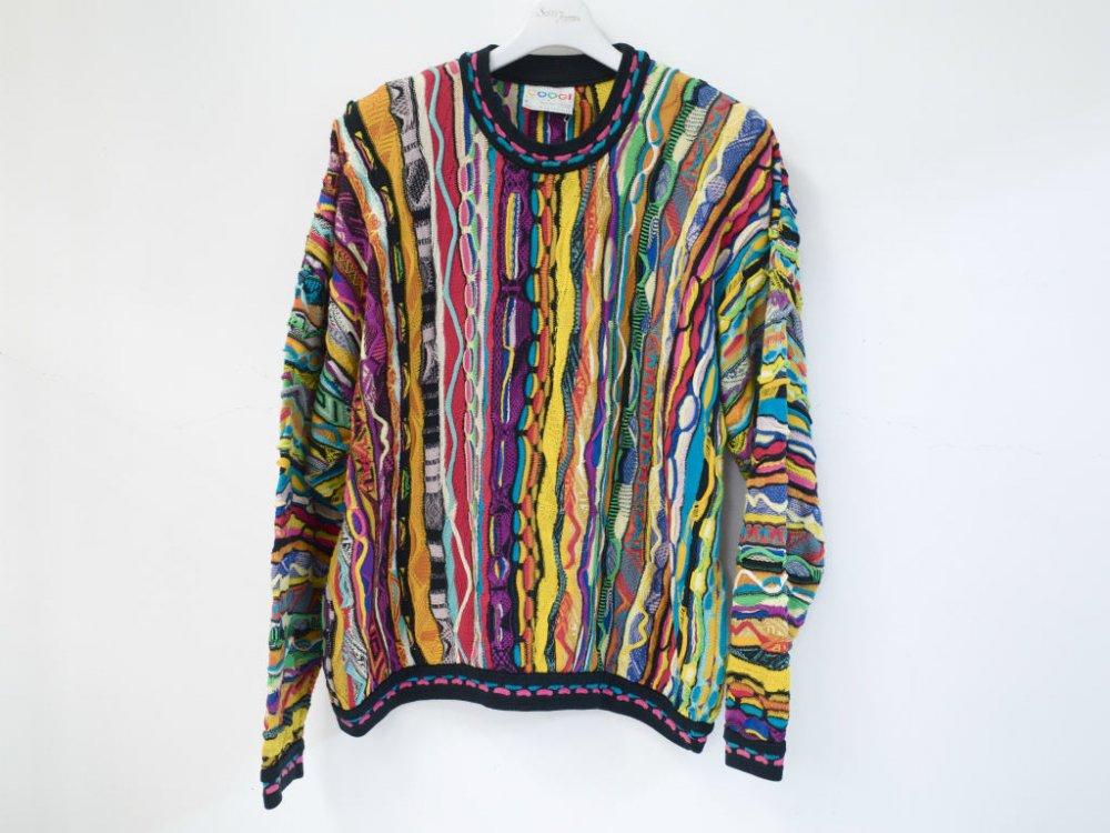COOGI コットン クルーネックセーター MADE IN AUSTRALIA USED