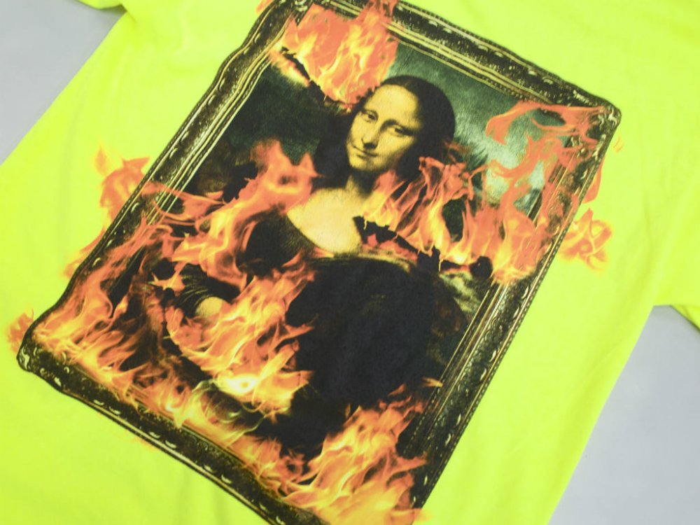 <img class='new_mark_img1' src='//img.shop-pro.jp/img/new/icons15.gif' style='border:none;display:inline;margin:0px;padding:0px;width:auto;' />PLEASURES BURN AGAIN Tシャツ s.green