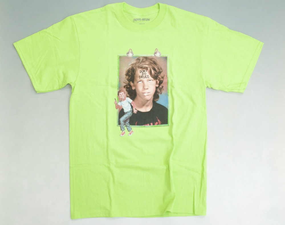 <img class='new_mark_img1' src='//img.shop-pro.jp/img/new/icons15.gif' style='border:none;display:inline;margin:0px;padding:0px;width:auto;' />Fucking Awesome  Dill Drugs  Tシャツ green