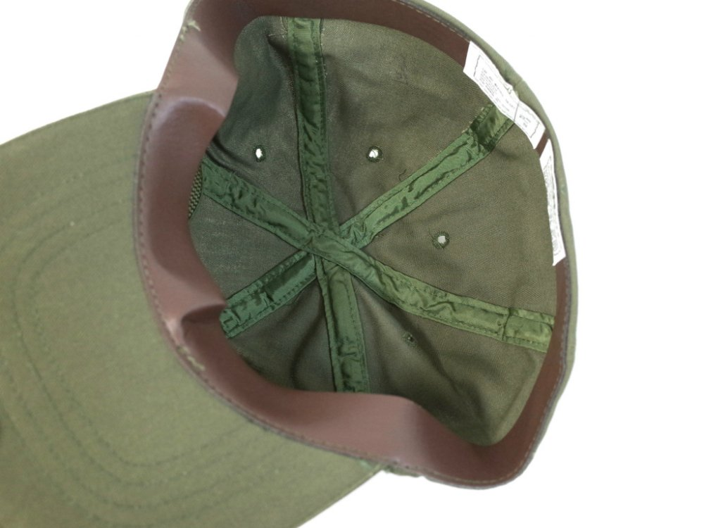 Vintage 80s U.S.ARMY CAP HOT WEATHER 6パネルキャップ DEAD STOCK