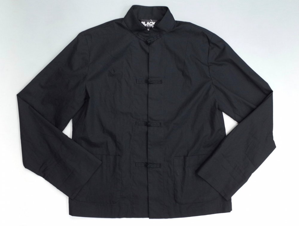 BLACK COMME des GARCONS  チャイナジャケット MADE IN JAPAN USED