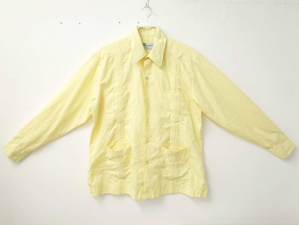 CUBA SHIRT  刺繍 シャツ USED  #18