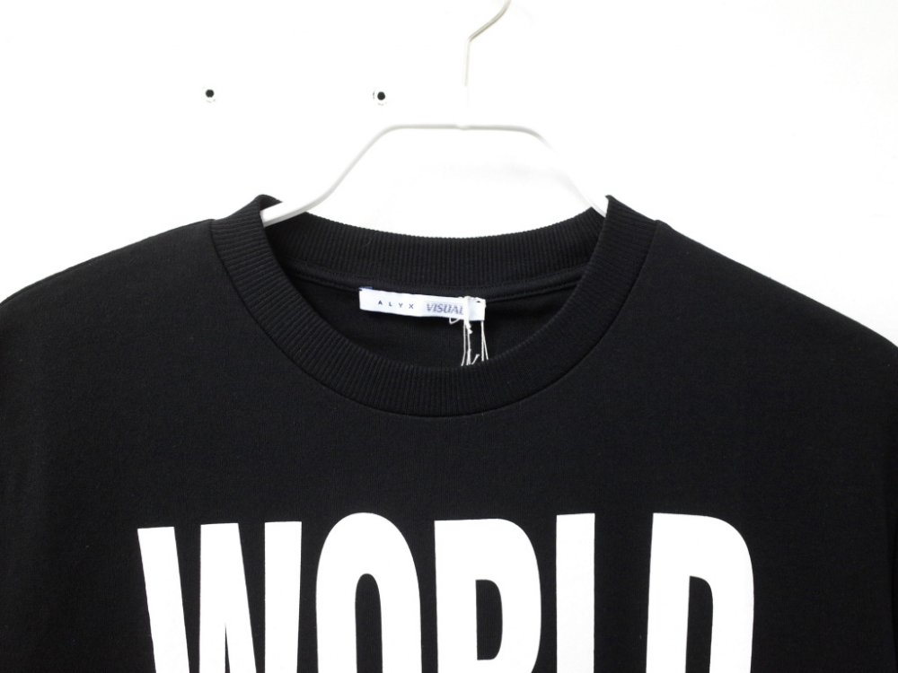 <img class='new_mark_img1' src='//img.shop-pro.jp/img/new/icons15.gif' style='border:none;display:inline;margin:0px;padding:0px;width:auto;' /> ALYX アリクス World Peace Tシャツ イタリア製