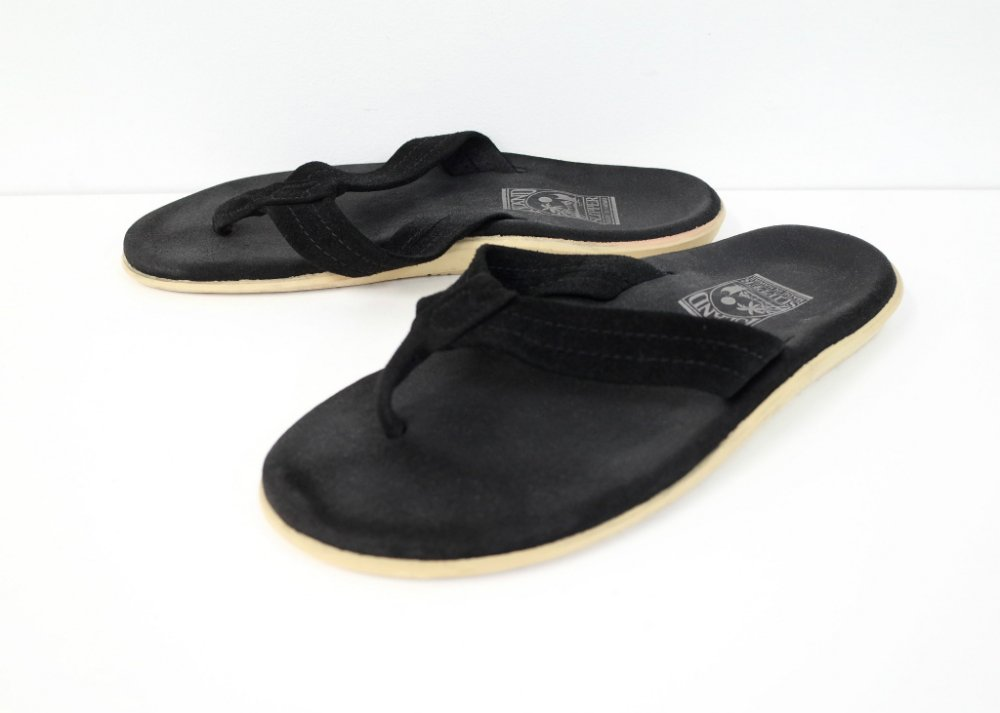 ISLAND SLIPPER レザー サンダル black MADE IN HAWAII USED