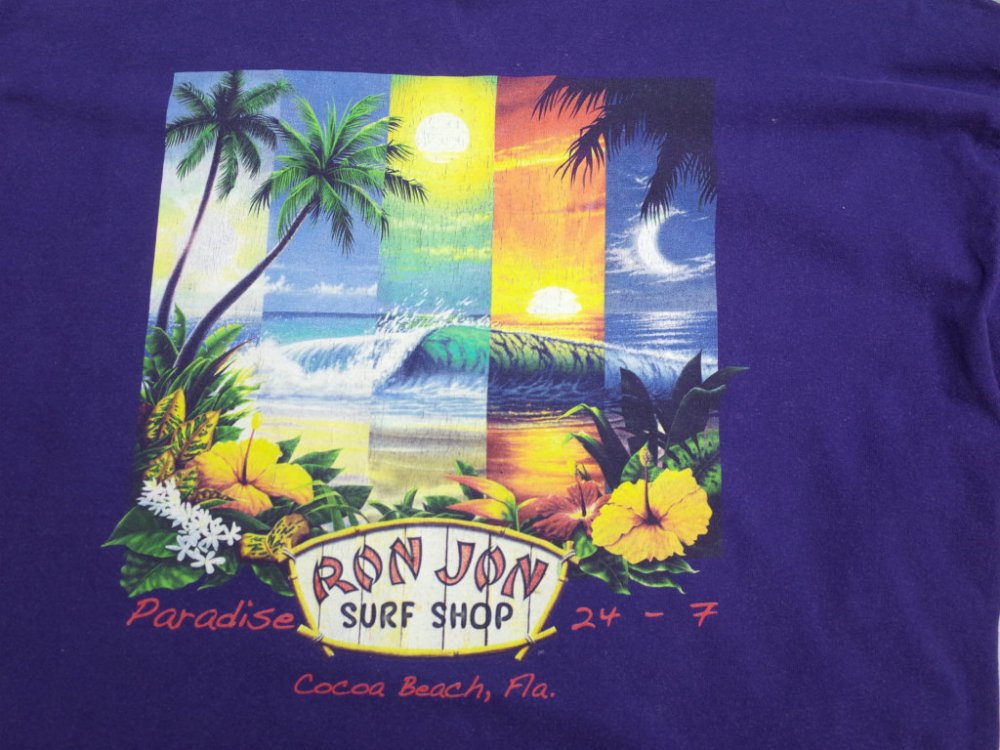 OLD RON JON SURF Tシャツ USED
