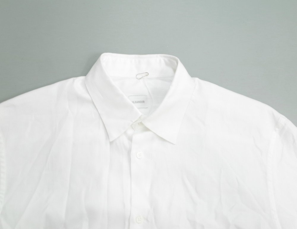 Jil Sander ヘリンボーンシャツ MADE IN ITALY USED