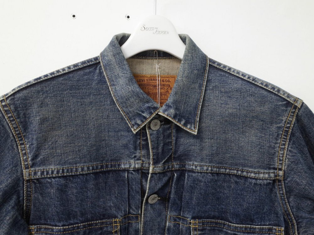 <img class='new_mark_img1' src='//img.shop-pro.jp/img/new/icons15.gif' style='border:none;display:inline;margin:0px;padding:0px;width:auto;' />LEVI'S VINTAGE CLOTHING リーバイス ヴィンテージ  71507XX セカンドモデル デニムジャケット  36 MADE IN JAPAN USED