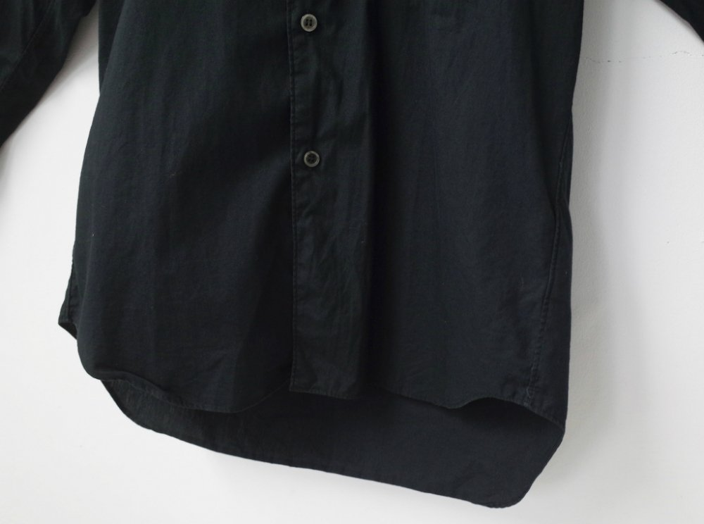 BLACK COMME des GARCONS  シャツパーカ AD2010 MADE IN JAPAN USED