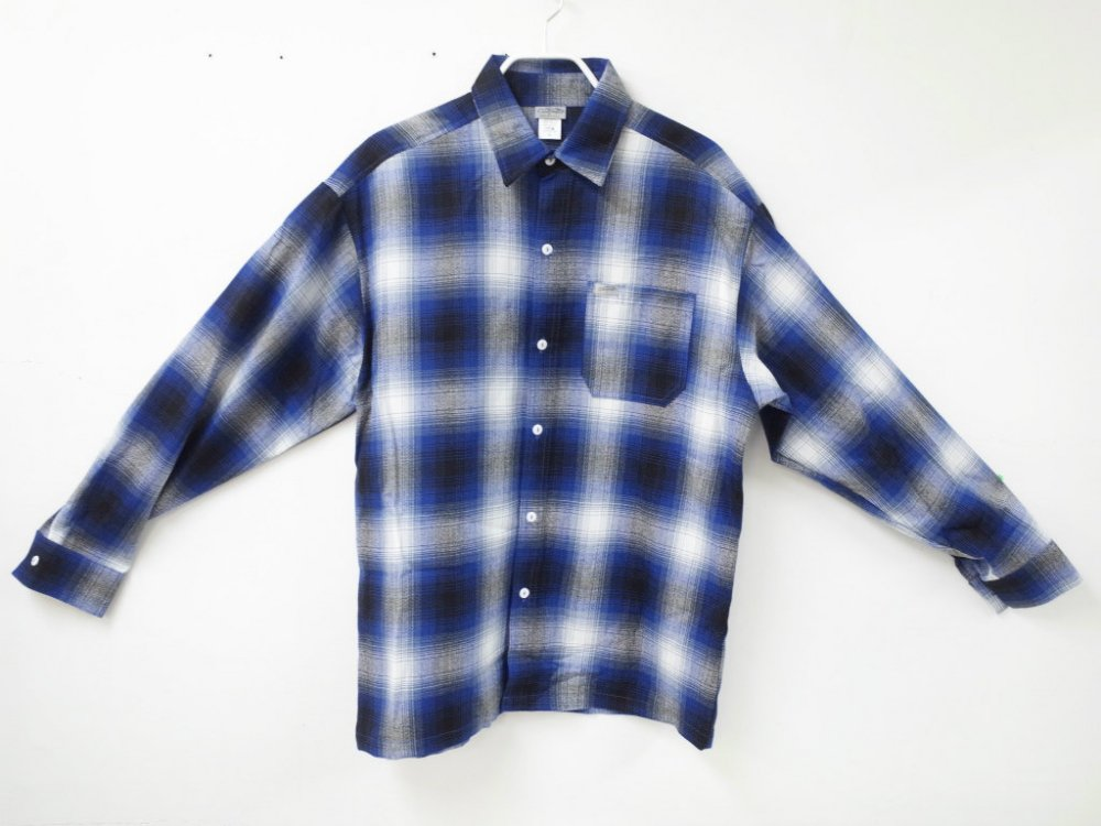 CALTOP OMBRE CHECK シャツ R/B MADE IN USA