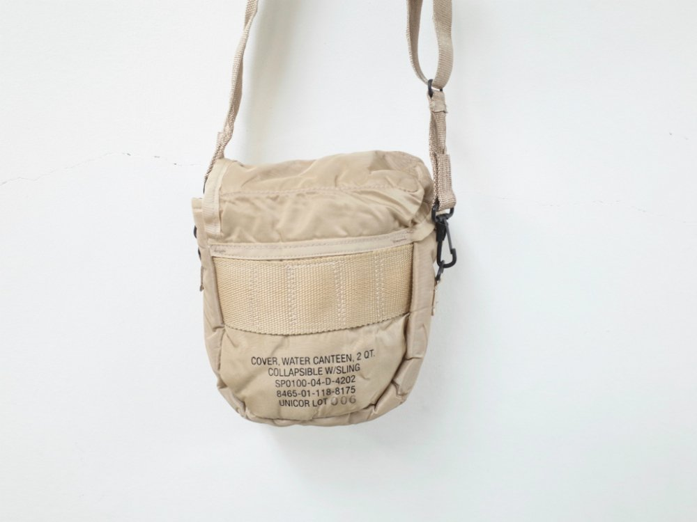 us army cover water canteen 2 qt ミニショルダーバッグ used sota