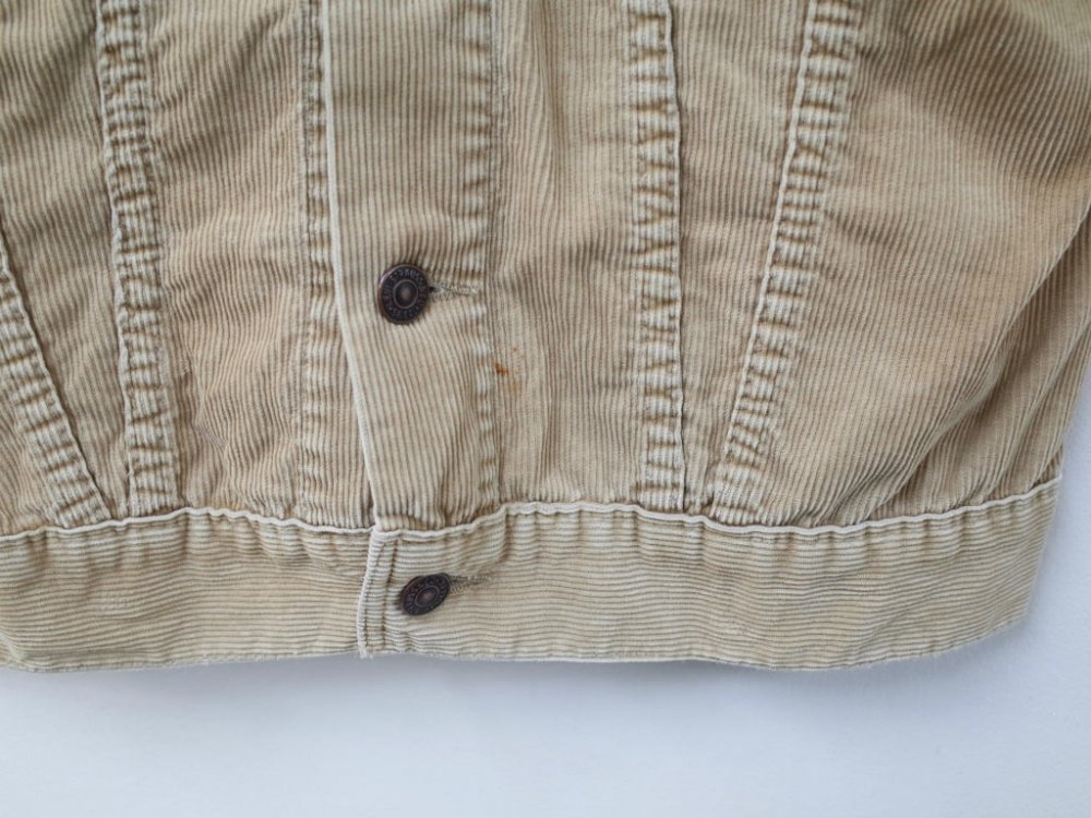 VINTAGE 80's LEVI'S コーデュロイジャケット MADE IN USA USED