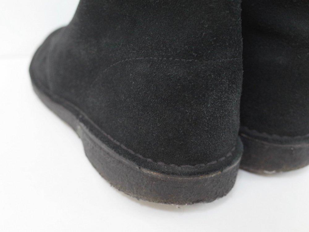 CLARKS クラークス Desert Boot クレープソール black USED