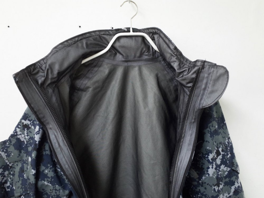US.NAVY DIGTAL PATTERN GORE-TEX PARKA ゴアテックス パーカ USED