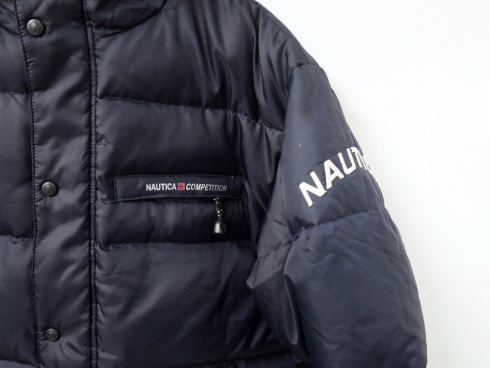 <img class='new_mark_img1' src='https://img.shop-pro.jp/img/new/icons20.gif' style='border:none;display:inline;margin:0px;padding:0px;width:auto;' />VINTAGE 90's NAUTICA COMPETITION  ダウンジャケット USED