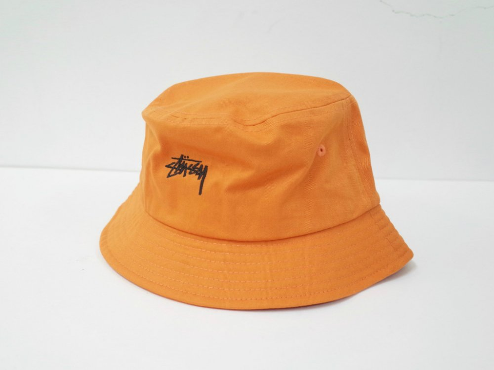 海外限定  Stussy Stock Bucket Hat