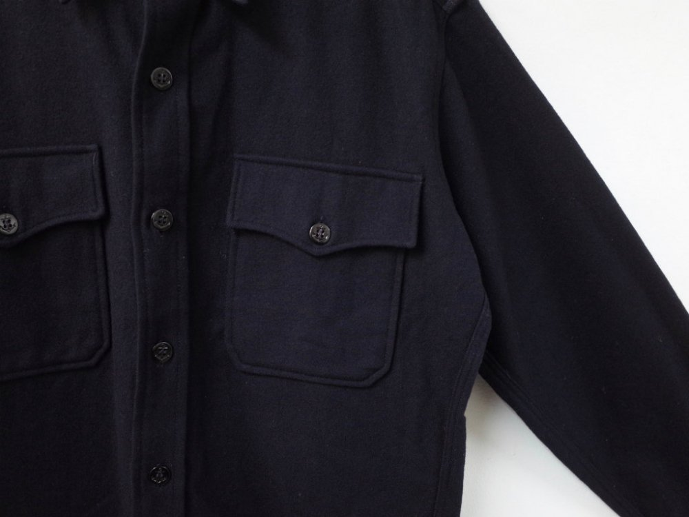 Vintage 73s US.NAVY CPO ウールシャツ USED