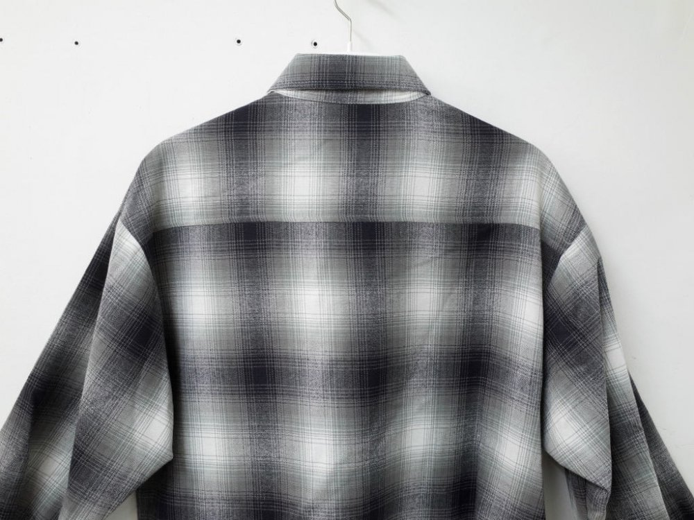 CALTOP OMBRE CHECK シャツ G/W MADE IN USA