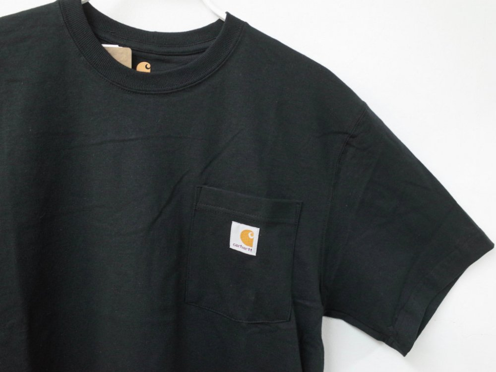 海外企画 CARHARTT カーハート WORK WEAR POCKET TEE black