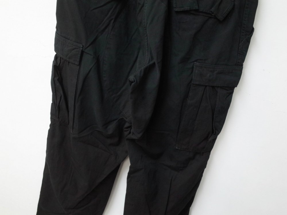 SOTA JAPAN × SEW UP US ARMY BLACK OUT BDU CARGO PANTS M-R