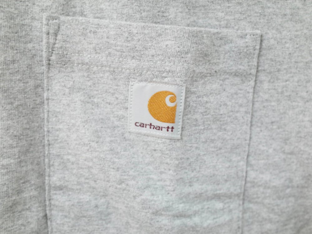 海外企画 CARHARTT カーハート WORK WEAR POCKET TEE grey