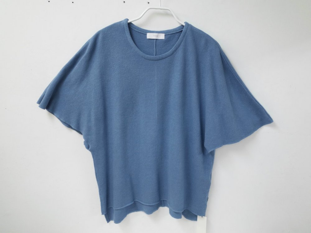 <img class='new_mark_img1' src='//img.shop-pro.jp/img/new/icons15.gif' style='border:none;display:inline;margin:0px;padding:0px;width:auto;' />THEE poncho knit t-shirts KT-CS-03 blue