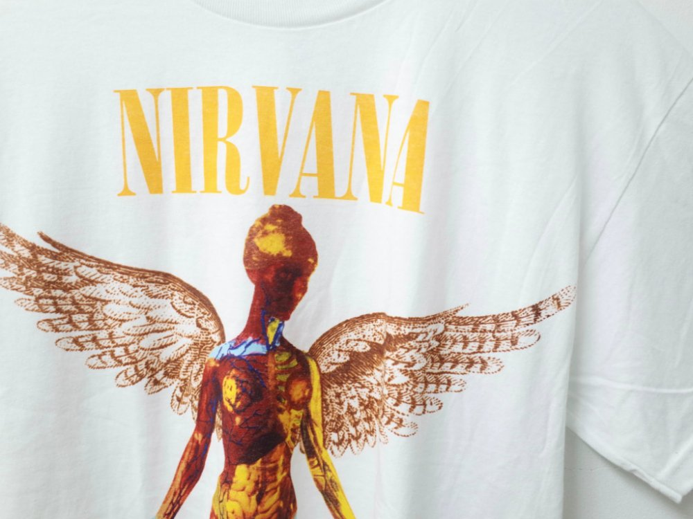 NIRVANA IN UTERO オフィシャル Tシャツ