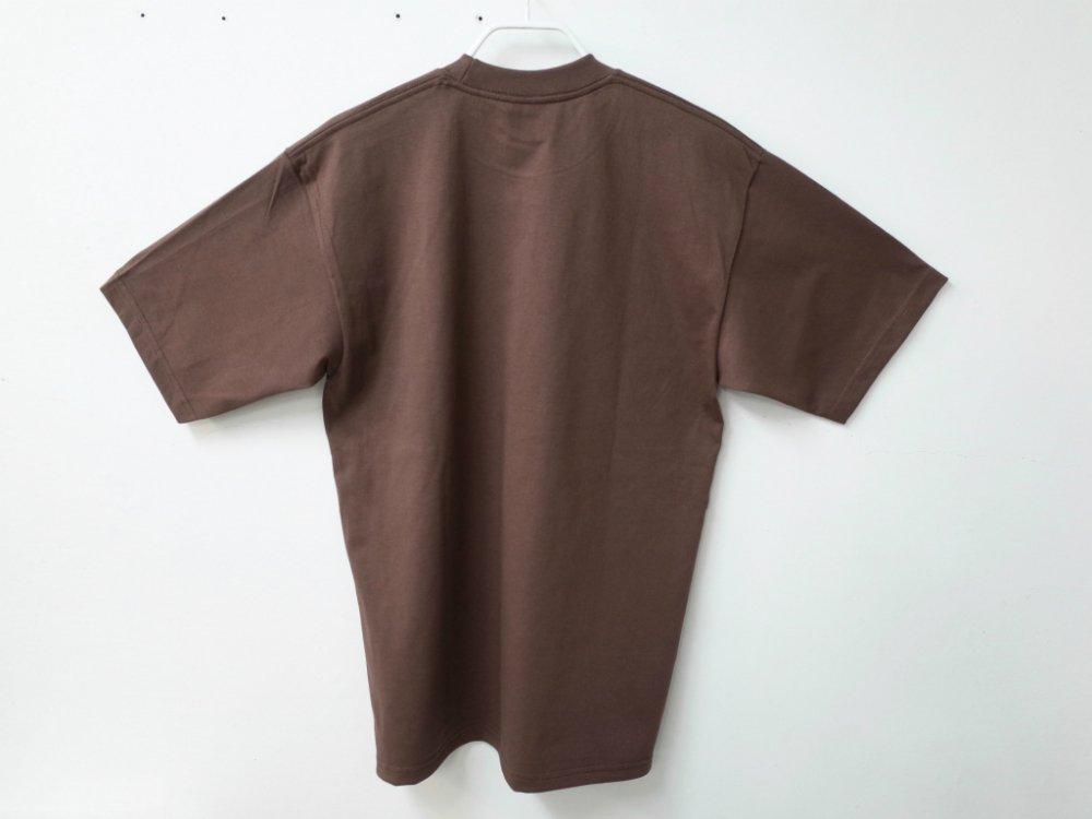 PRO CLUB  6.4オンス ヘビーウェイトコットン Tシャツ brown