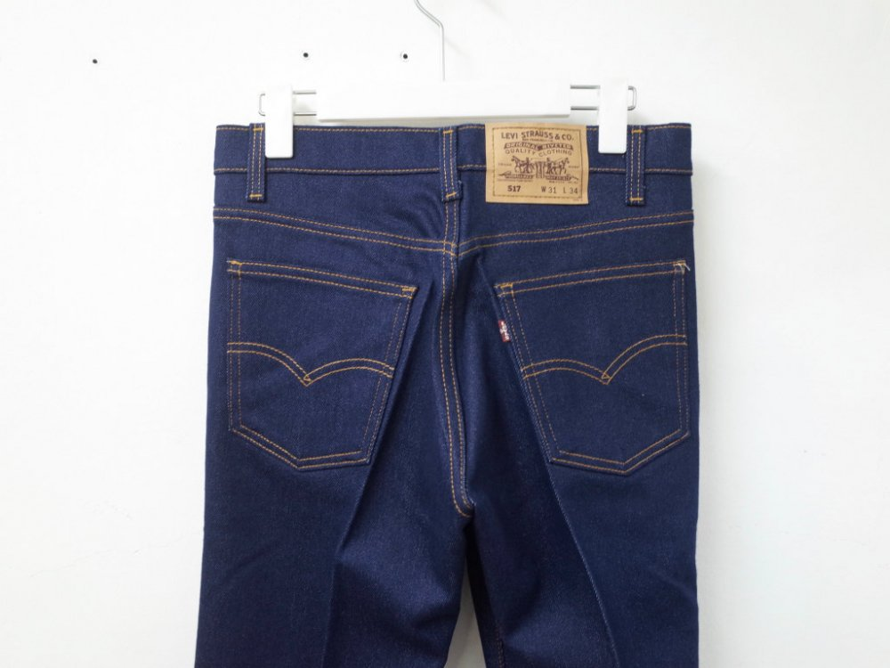 <img class='new_mark_img1' src='//img.shop-pro.jp/img/new/icons15.gif' style='border:none;display:inline;margin:0px;padding:0px;width:auto;' />Vintage 90's Levi's リーバイス 517   ストレッチ パンツ USA製 DEAD STOCK