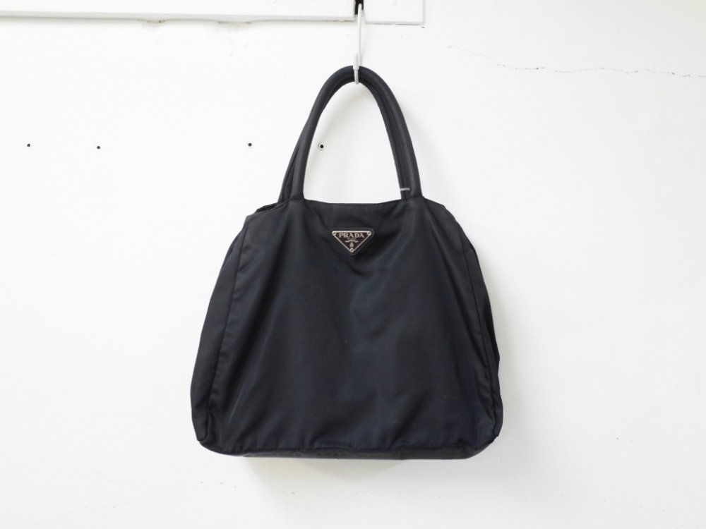 2f083068f4a6 PRADA プラダ ロゴ ナイロン ハンドバッグ MADE IN ITALY USED - SOTA JAPAN ONLINE SHOP