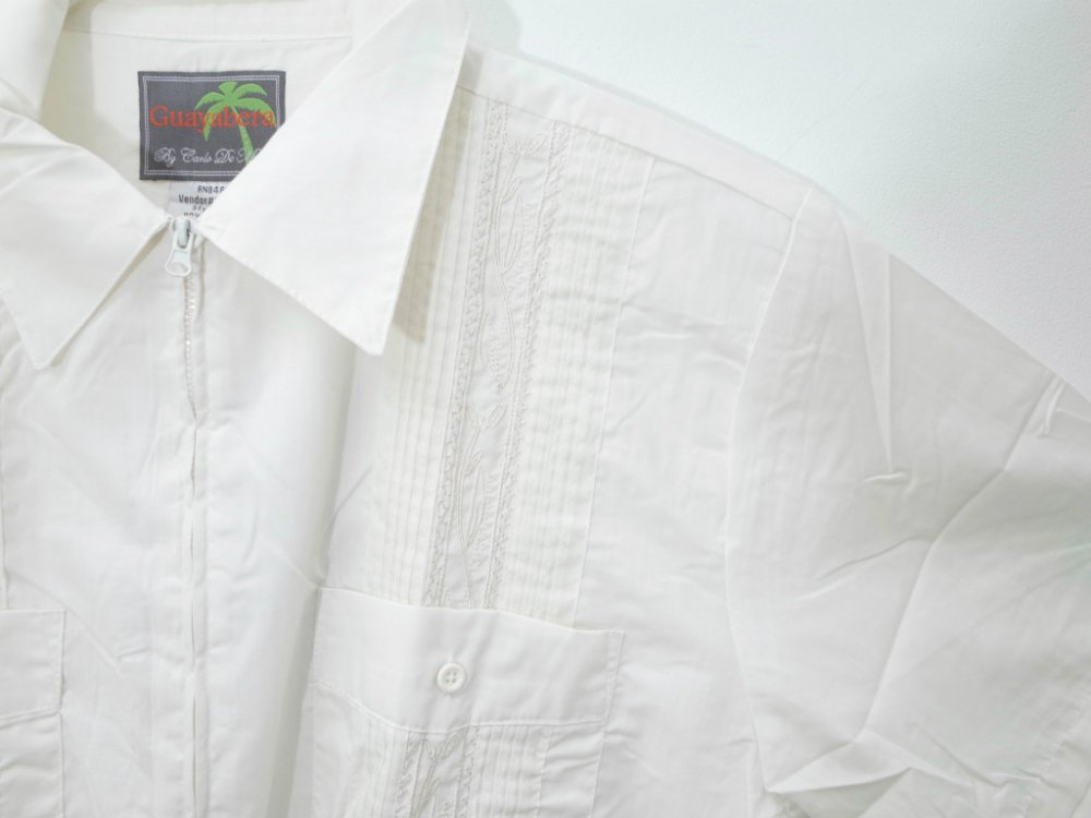 <img class='new_mark_img1' src='https://img.shop-pro.jp/img/new/icons15.gif' style='border:none;display:inline;margin:0px;padding:0px;width:auto;' />CUBA SHIRT  刺繍 シャツ NEW