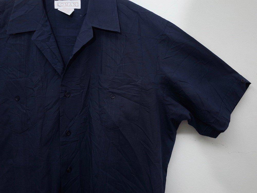CUBA SHIRT  オープンカラー 刺繍 シャツ USED #2