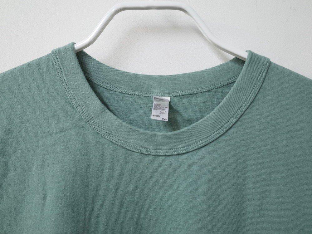 LOS ANGELES APPAREL  ガーメントダイ 8.5オンス  Tシャツ USA製 A.Green