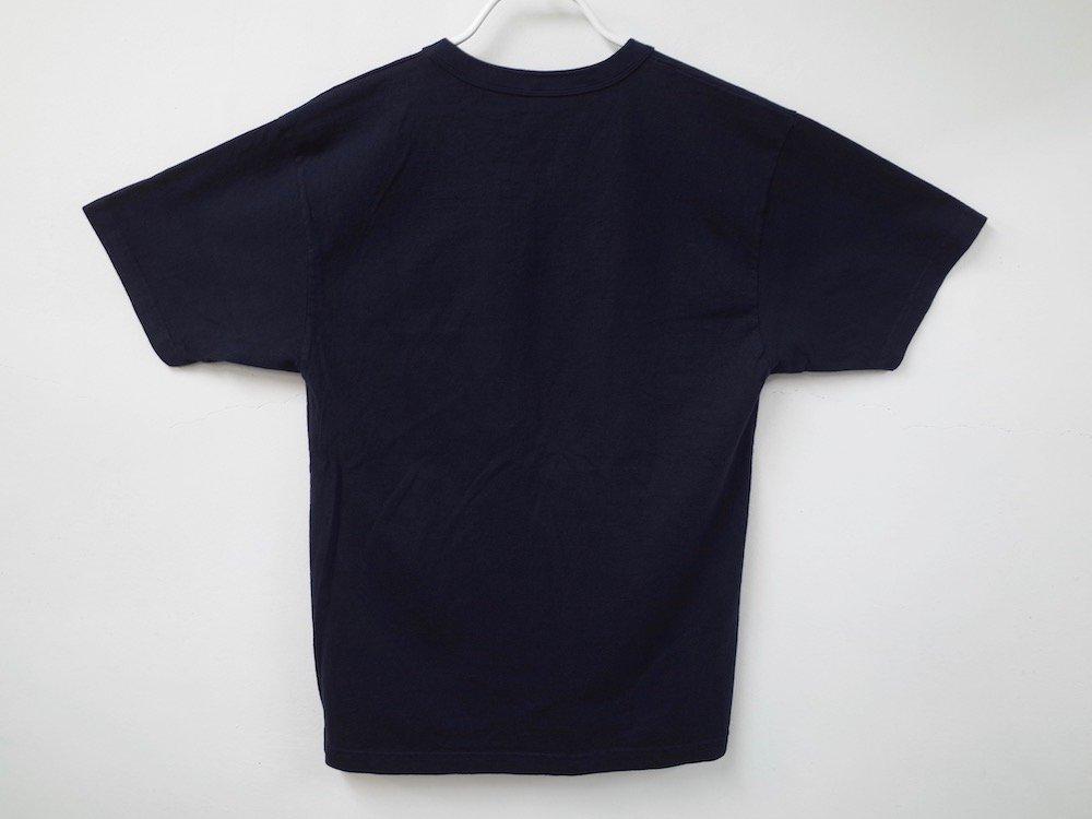 LOS ANGELES APPAREL  ガーメントダイ 8.5オンス  Tシャツ USA製 navy