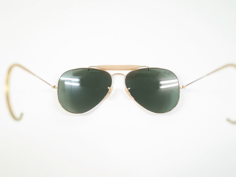 VINTAGE RAY-BAN BAUSCH&LOMB社製 アビエーター サングラス MADE IN USA USED